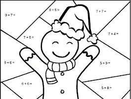 Hidden Objects Christmas Printable Coloring Pages