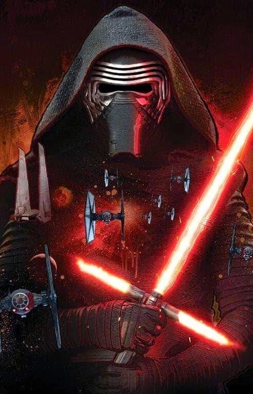 Cartel nº2 de la película Stars Wars 7 El despestar de la fuerza