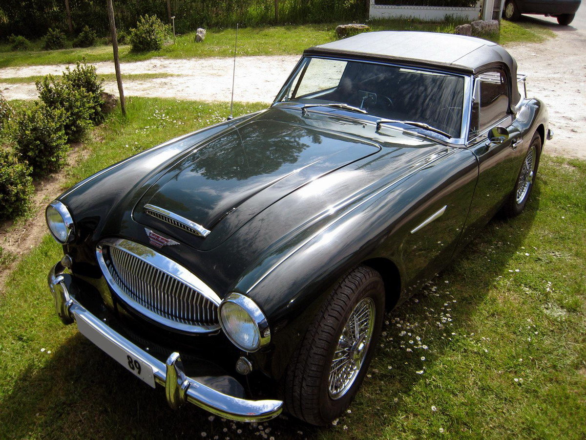mes images voitures anciennes l 39 austin healey 3000. Black Bedroom Furniture Sets. Home Design Ideas