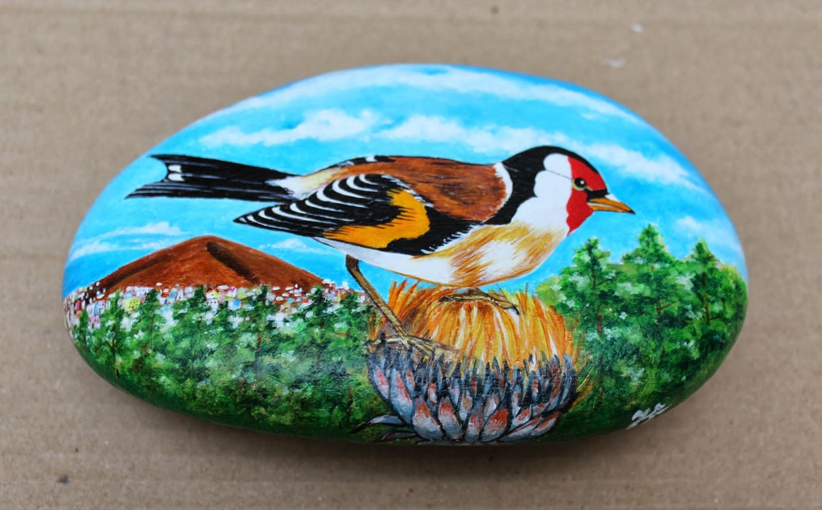 Artesano miniaturista pintura y pirograbado piedras pintadas for Pintura de piedras
