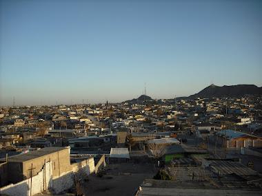 Overlooking Juarez