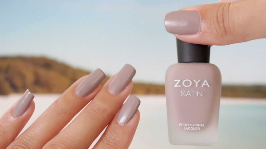 Zoya Rowan Satin Swatches