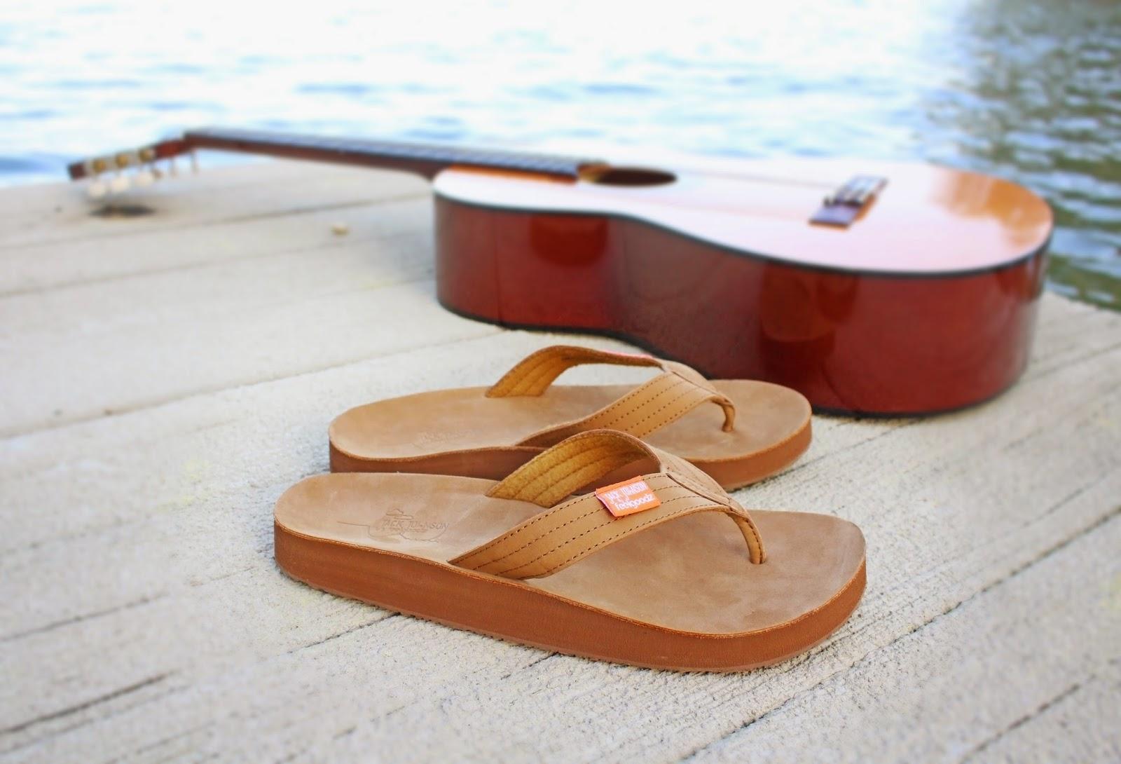 jack johnson flip flops