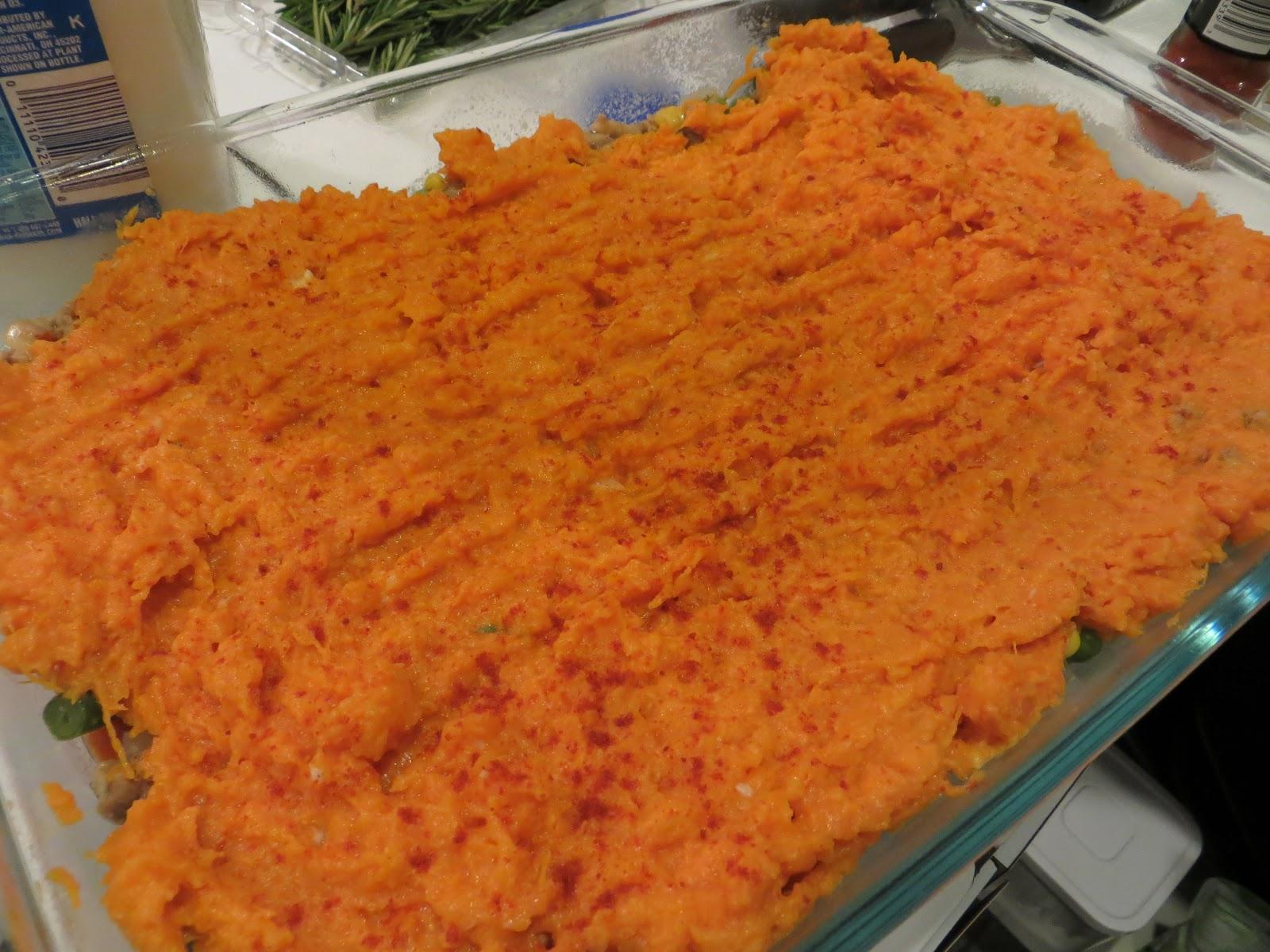Little Colorful Chaos: Sweet Potato Turkey Shepherds Pie