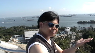 Singapore Sentosa Merlion Head