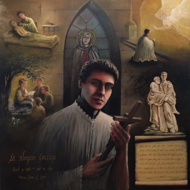 St. Gonzaga Painting