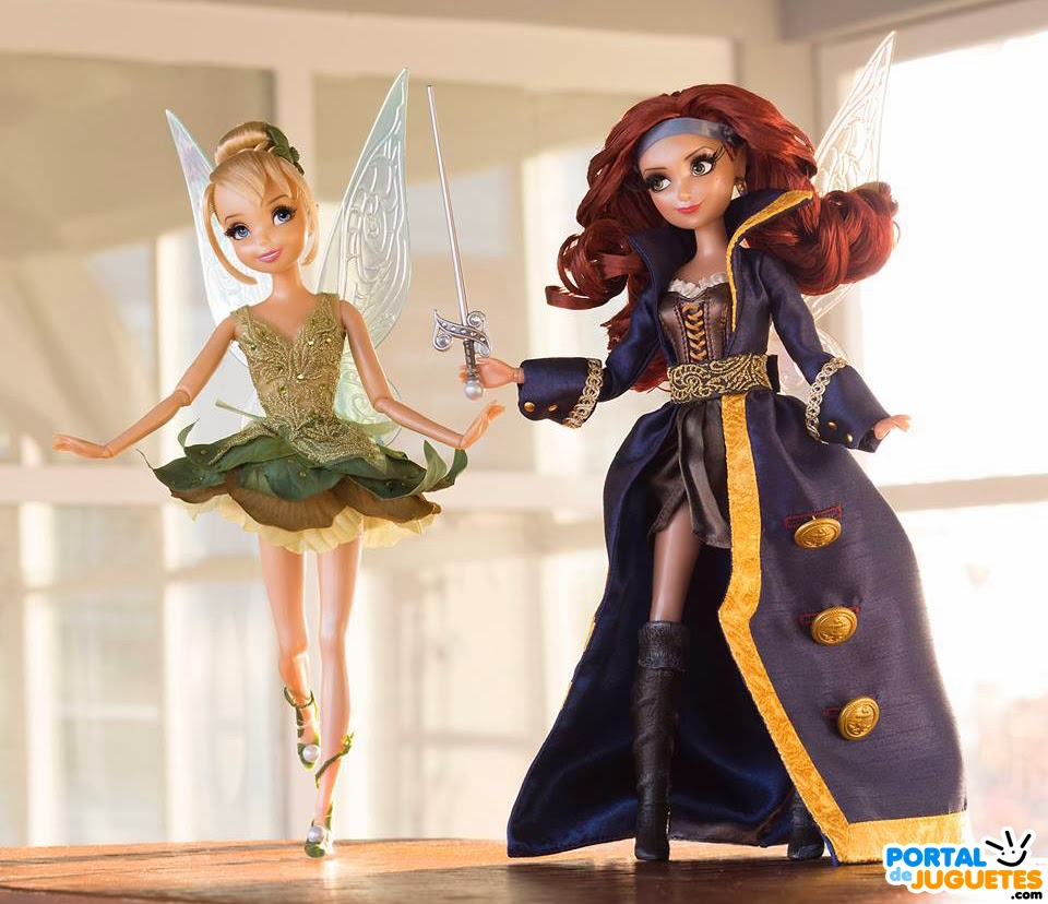 muñecas Disney Fairies Designer Collection