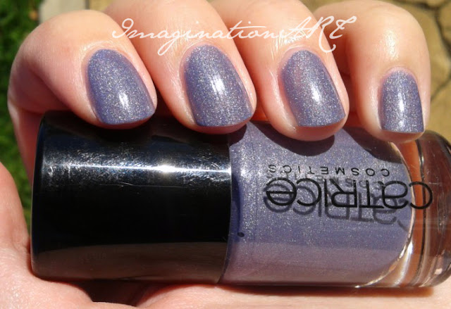 Catrice 420 Dirty Berry swatch smalto unghie nail polish lacquer