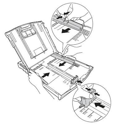 Отрегулировать размер лотка под формат бумаги
