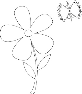 Illustrator oefening bloem