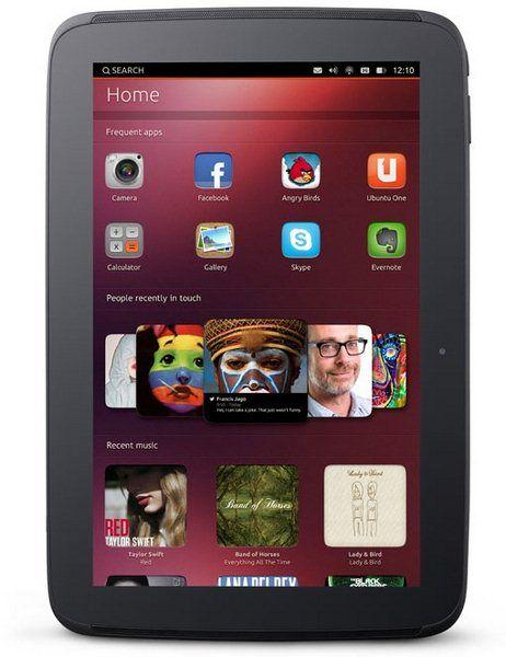 Ubuntu Tablet, Tablet, Ubuntu Tablet OS