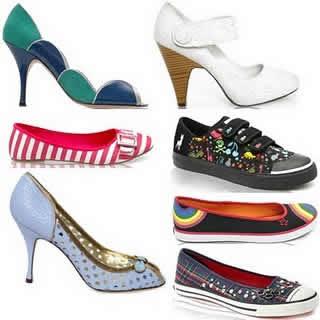 Trend Sepatu Wanita Terbaru 2012 Lucu dan Unik