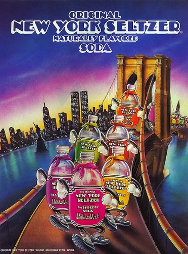 The joy of drinking New York Seltzer