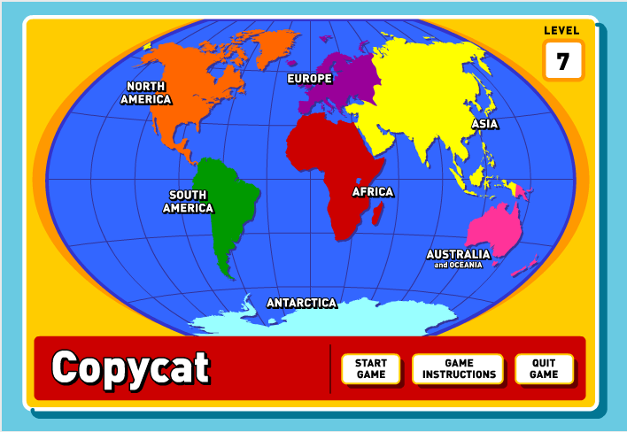 http://kids.nationalgeographic.com/kids/games/geographygames/copycat/