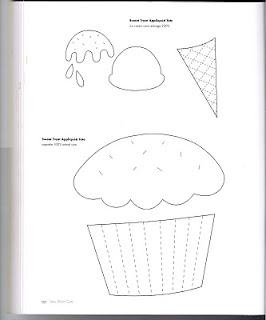 Risco para aplicação - cupcake