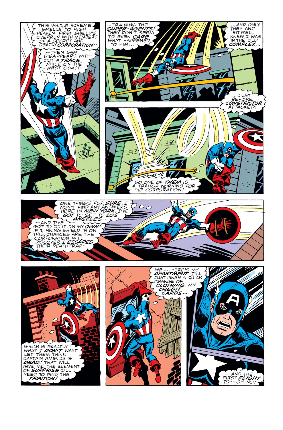 Captain America (1968) Issue #229 #143 - English 6