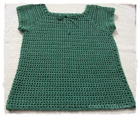 crochet,mesh,top,ladies,easy