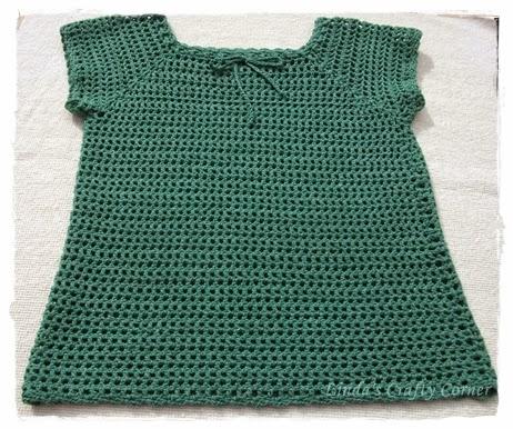 crochet,mesh,top,ladies,easy