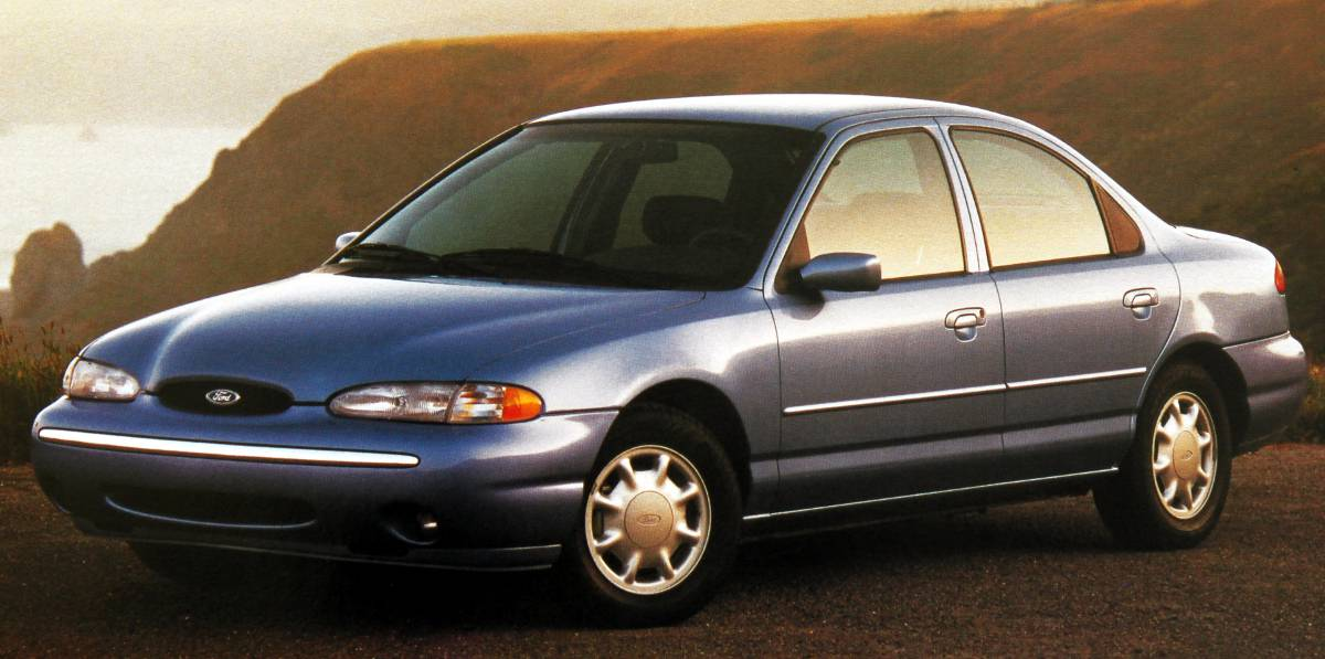 The Contours Hood And Front Differ From Modeo Soft Appearance Was Surely Chosen To Relate Contour Fords Second Generation Taurus