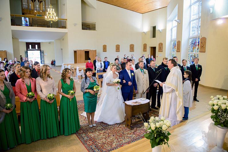 Vestuvės švento apaštalo Pauliaus bažnyčioje