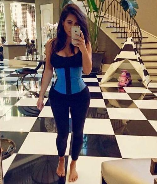 Kim Kardashian  now proves with a new Selfie