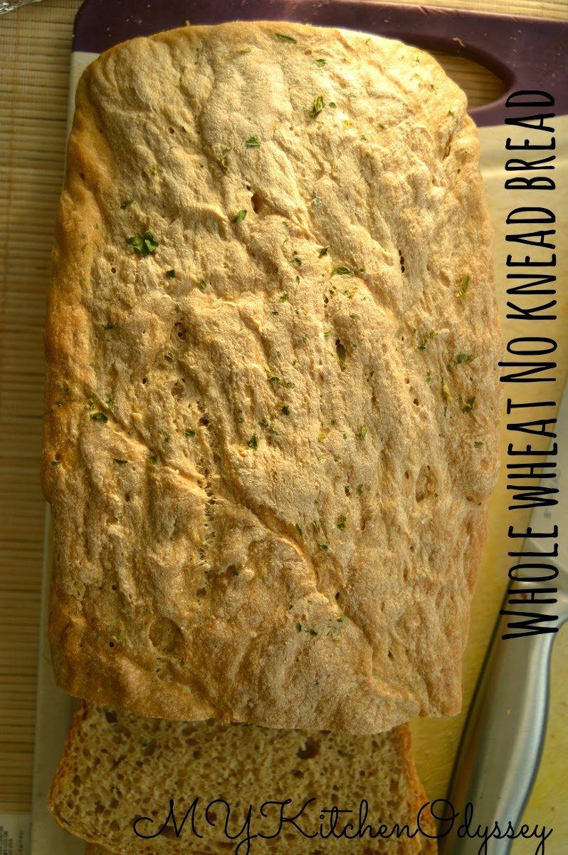 Whole wheat no knead bread2