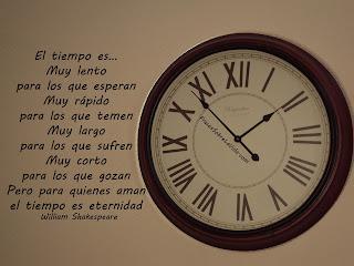 Frases Para La Vida: El Tiempo Es Muy Lento