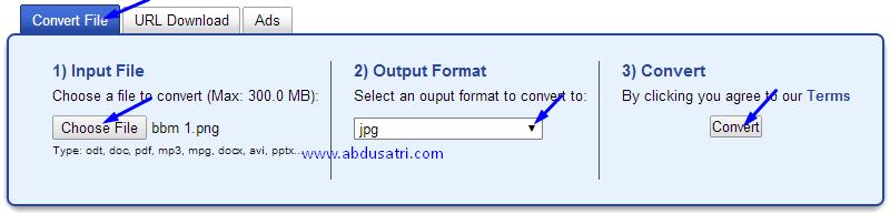 cara merubah convert semua fomat file secara online dengan mudah