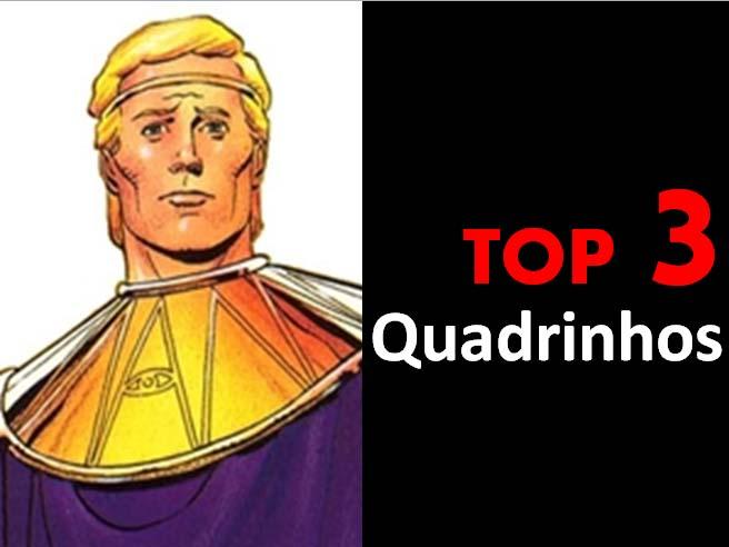 Top 3 - Quadrinhos