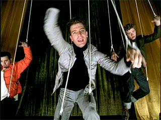 JC Chasez in Bye Bye Bye video
