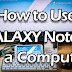 Using Galaxy Note 2 As A PC Computer (With MHL adapter, Bluetooth Keyboard + Mouse)