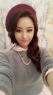 Secret's JieEun is stylish for Autumn