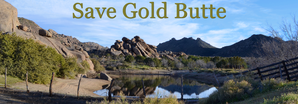 Save Gold Butte
