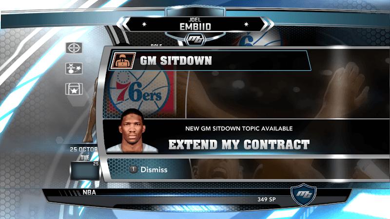 NBA 2k14 MyCareer Mod : Joel Embiid - hoopsvilla