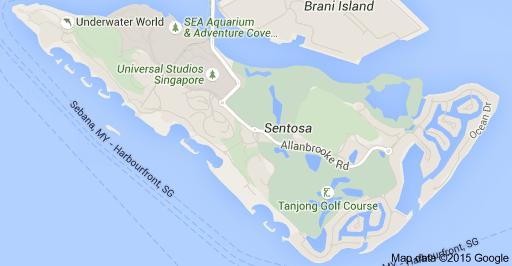 Sentosa Island Singapore Map, Review, and Transportation