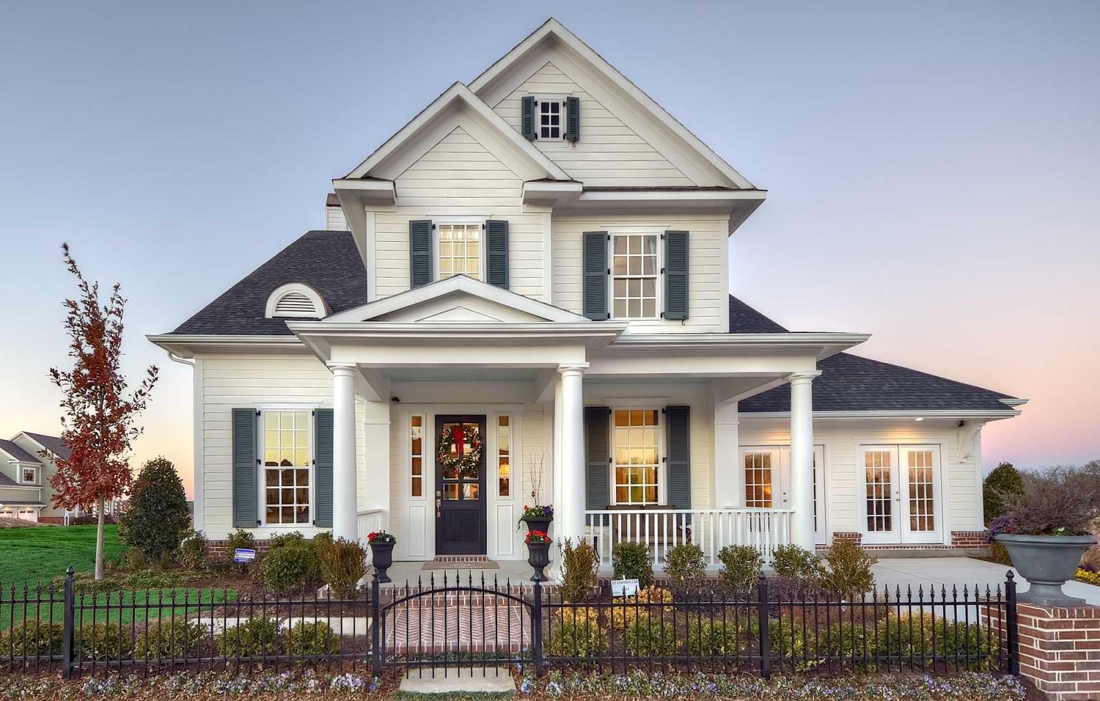 desain rumah modern mewah unik minimalis interior exterior