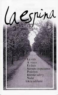 """PUBLICACIÓN: """"LA ESPINA"""""""