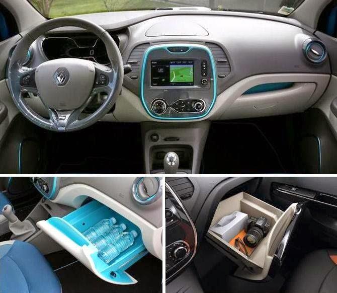 Renault captur crossover comparativos modelos for Interior renault captur