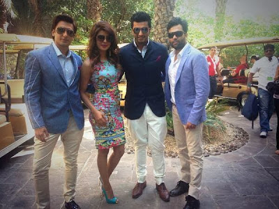 Priyanka and Ranveer at Dubai International Film Festival to Launch  Gunday Trailer