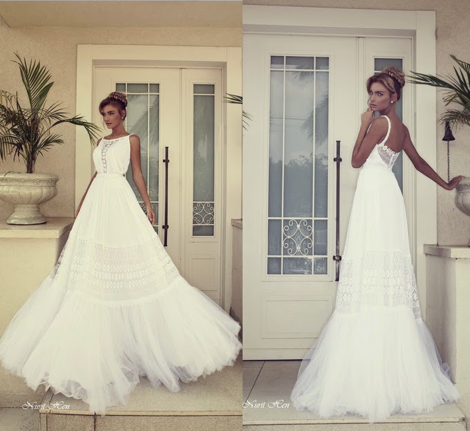 Bridal-in: Spring Summer wedding dresses collections 2014 by Nurit Hen