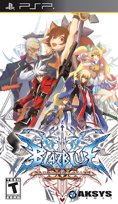 BlazBlue: Continuum Shift 2 PSP