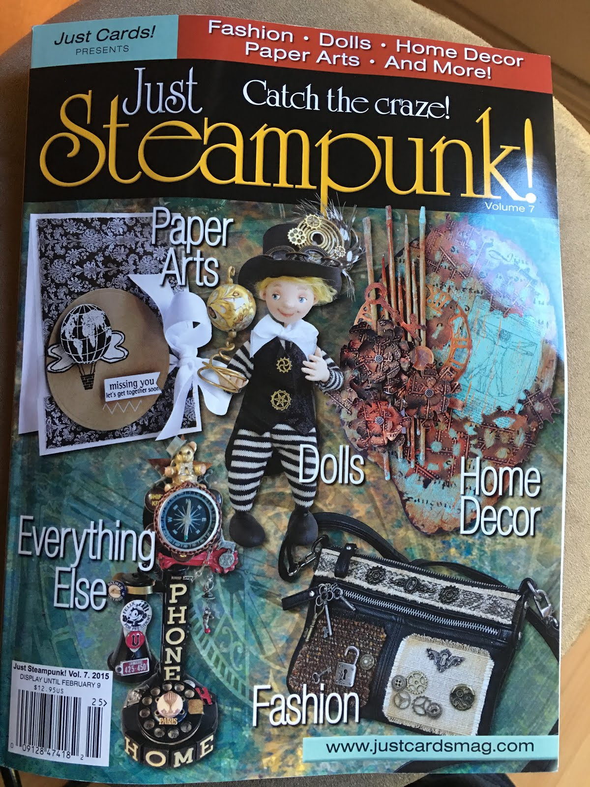 Just Steampunk Vol 7