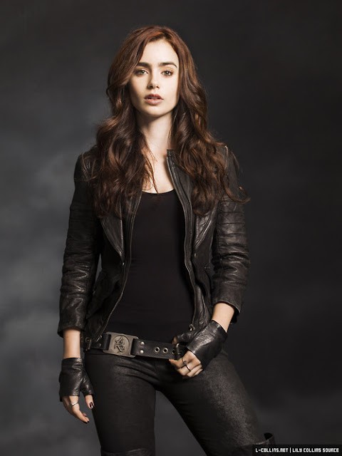 2 New Promotional Images of Lily Collins as Clary Fray ...