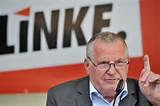 Lothar Bisky former leader of Die Linke and GUE/NGL has died