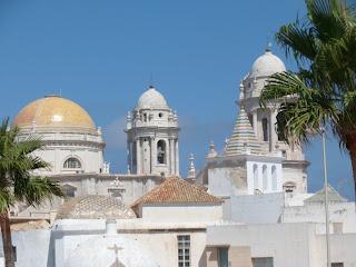 Cadiz skyline