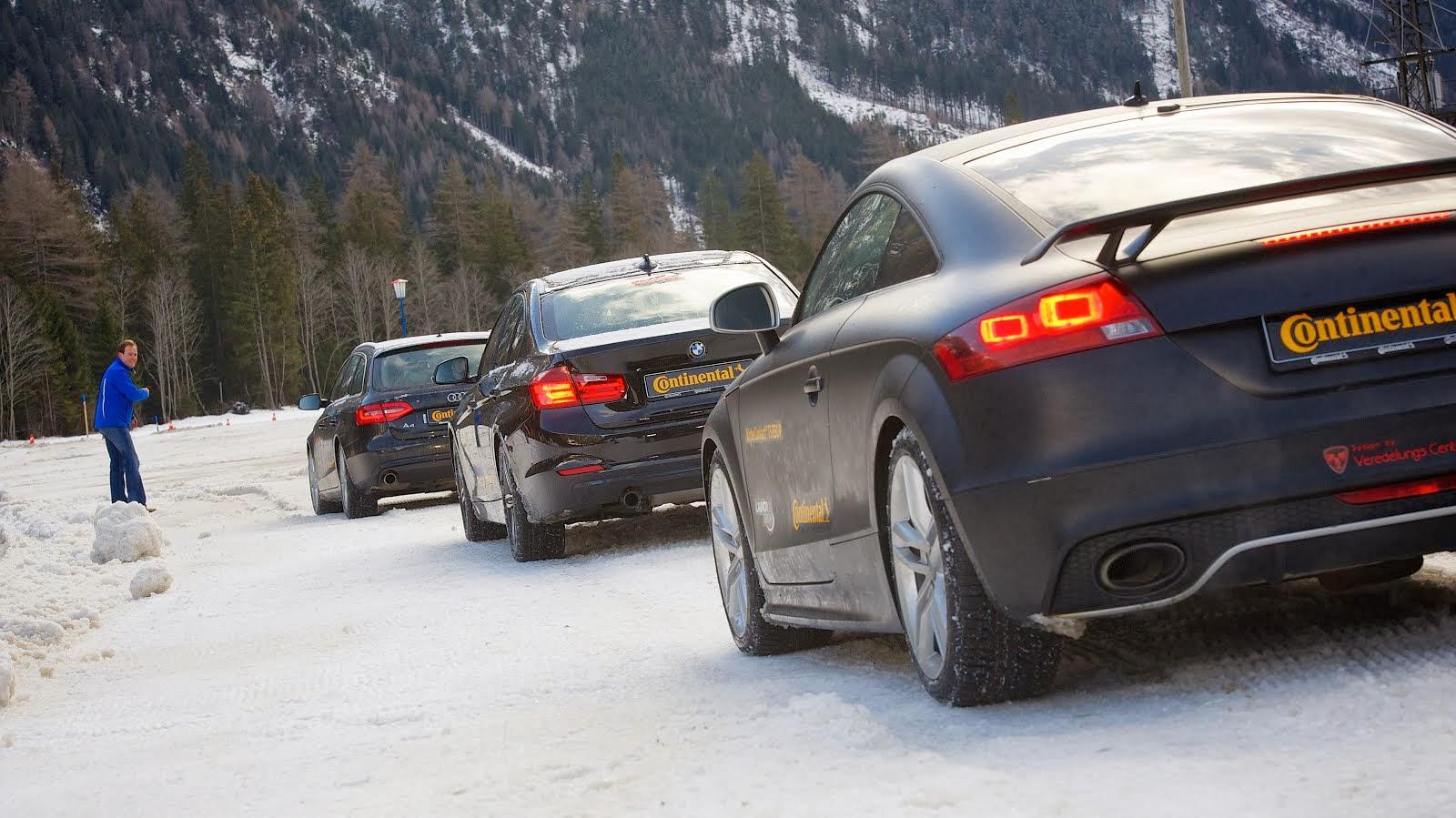 Nuovo WinterContact TS 850 P e P SUV: ciak, si gira