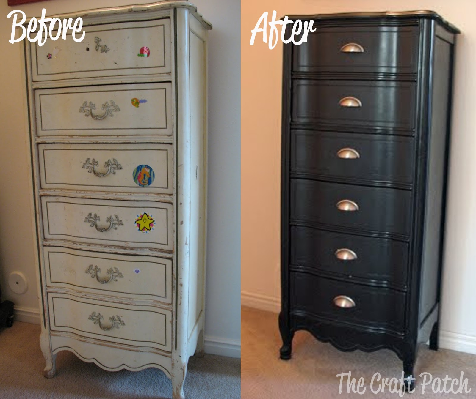 Furniture Redo: The $5 Dresser