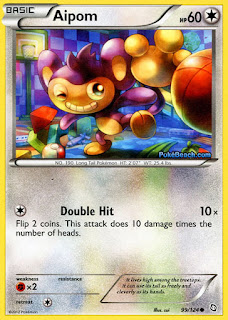 Aipom Dragons Exalted Pokemon Card