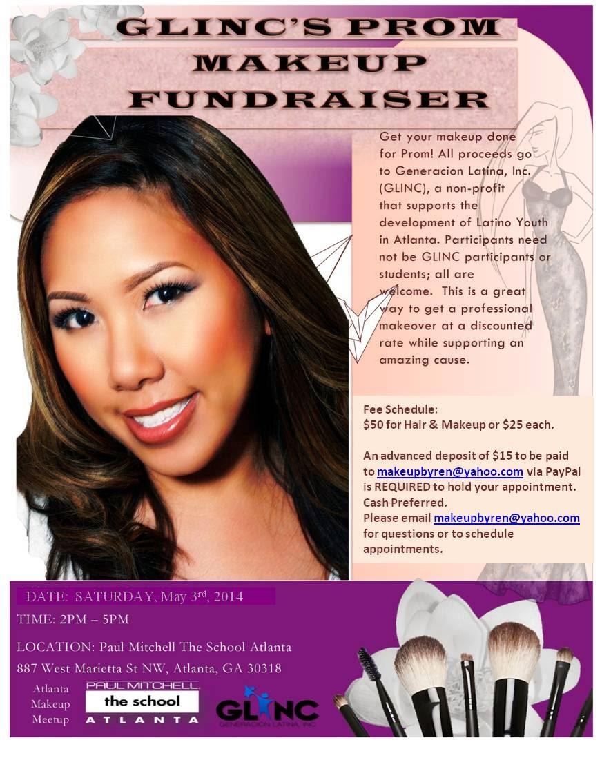 Atlanta Prom Makeup Fundraiser 50 Hair Makeup Proceeds Go To