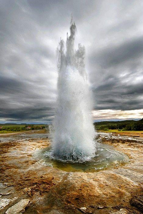 Philipp Melanchthon - Geyser, Iceland